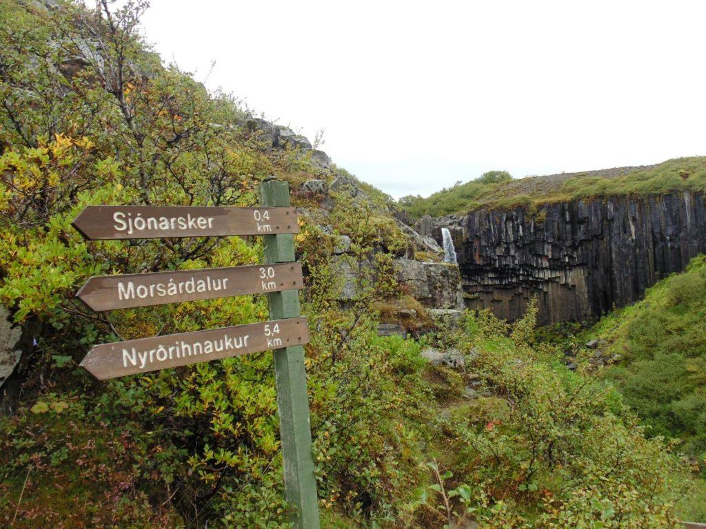 Trois randonnées dans le parc national de Skaftafell