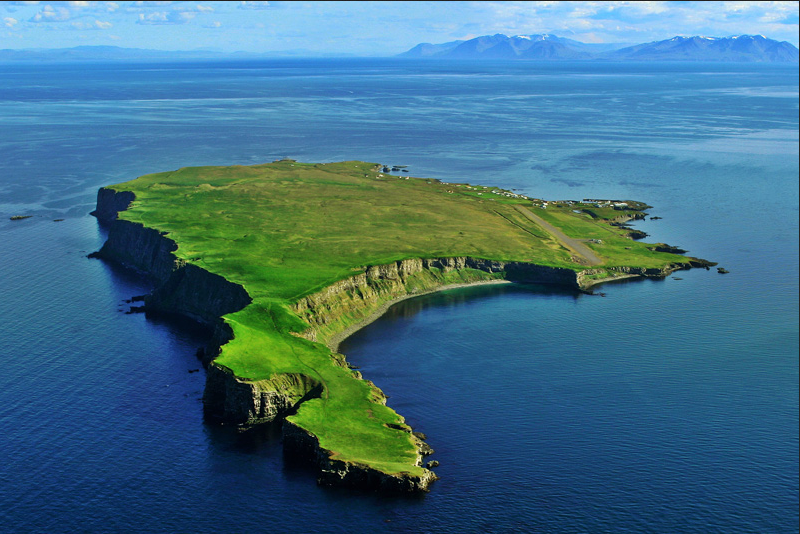 Au bout du monde, Grímsey