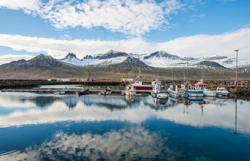 Villages de l'est islandais