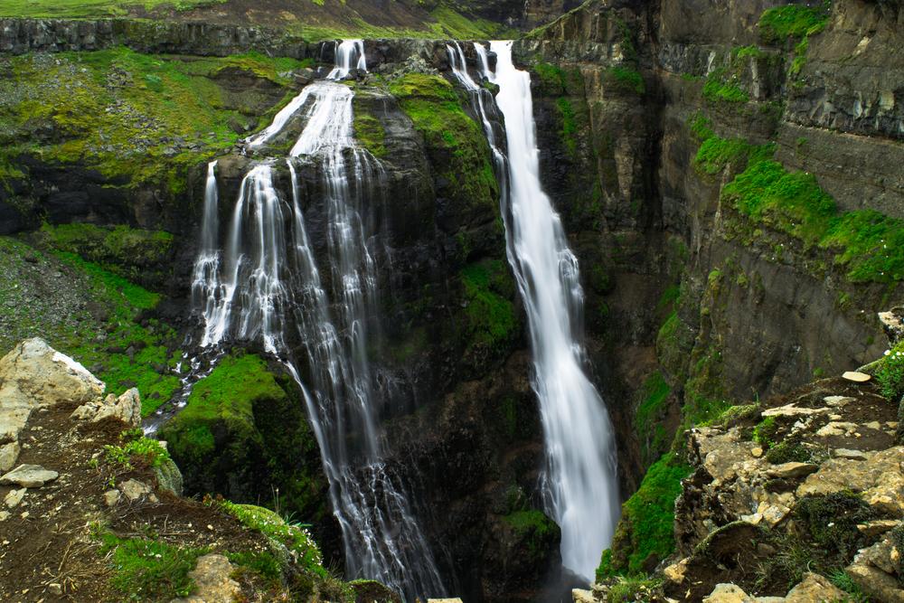 Cascades de l'ouest de l'Islande
