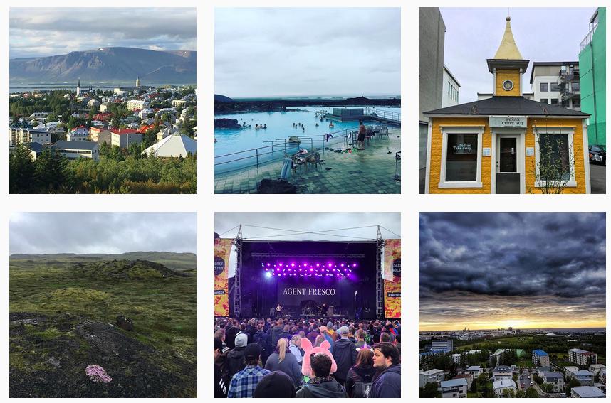 Instagram Iceland Airwaves 2017