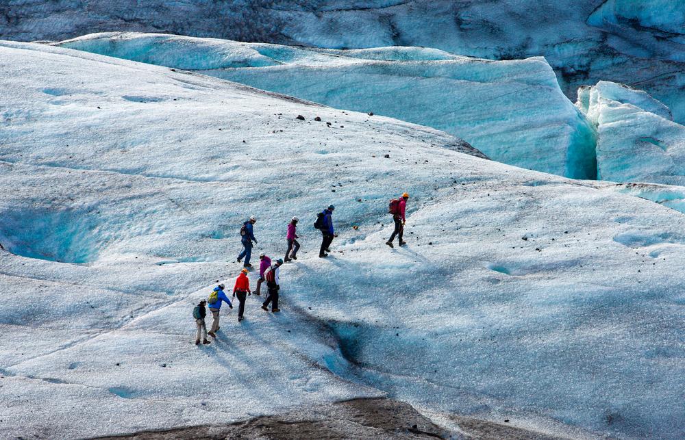 Itinéraire de 7 jours dans le sud de l'Islande | Jour 4: Parc national de Vatnajökull et glaciers