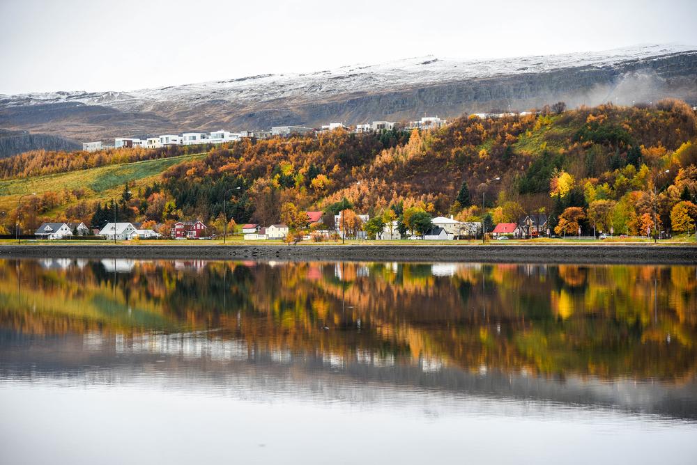 Climat et météo de l'Islande en automne